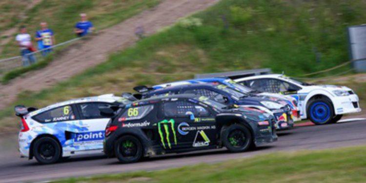 Tanner Foust gana en Kouvola en el European Rallycross