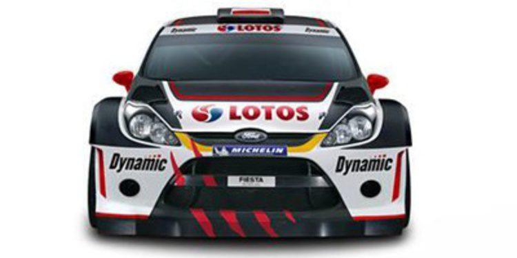 Michal Kosciuszko reduce su programa en el WRC 2013