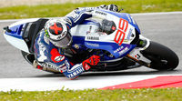 Jorge Lorenzo domina los FP1 de MotoGP en Montmeló