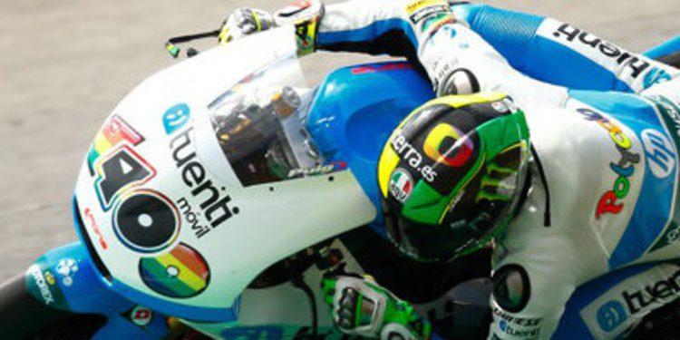 Pol Espargaró al mando en casa desde los FP1 de Moto2