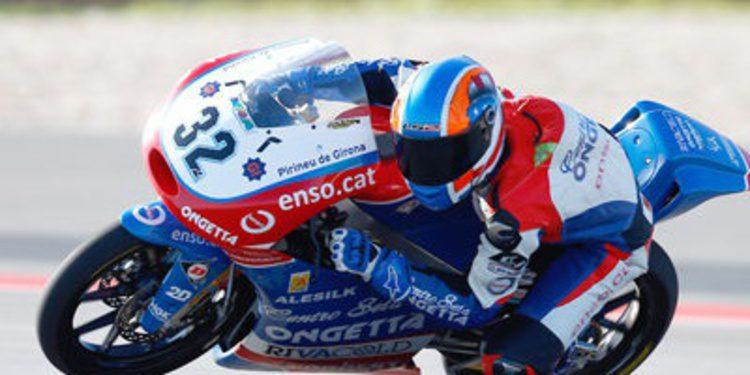 Isaac Viñales, sorpresa en los FP2 de Moto3 en Catalunya