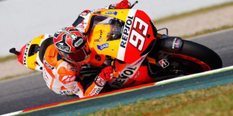 Marc Márquez encabeza los FP3 de MotoGP en Montmeló