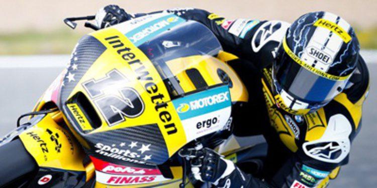 Tom Lüthi se reencuentra en Montmeló en los FP3 Moto2