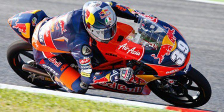 Luis Salom poleman de Moto3 en Catalunya con autoridad