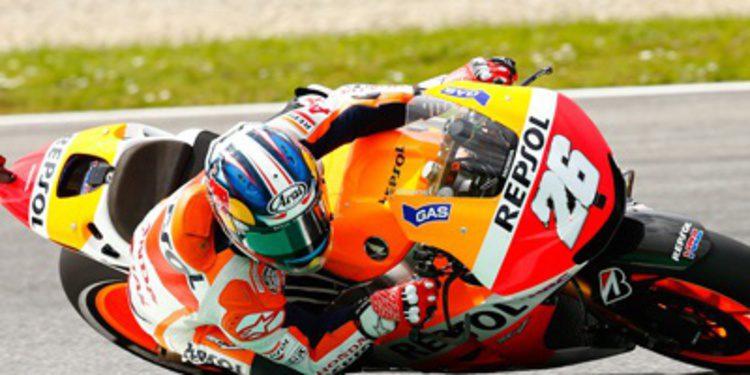 Dani Pedrosa pole con récord de MotoGP en Montmeló