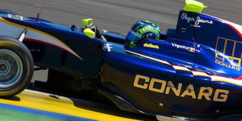 Victoria de Robert Visoiu en la segunda manga de GP3 en Cheste
