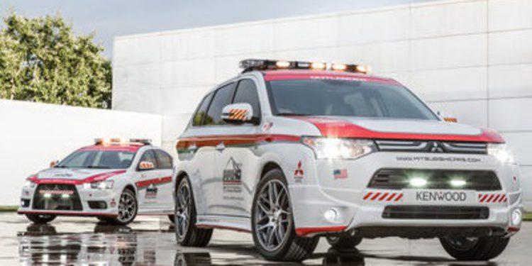 Mitsubishi Outlander y Lancer darán paz en Pikes Peak