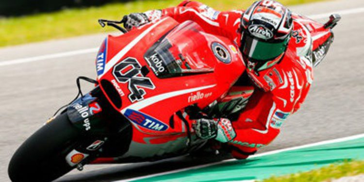 Andrea Dovizioso y Nicky Hayden sin mejoras en Assen