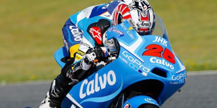 Maverick Viñales líder en unos frescos FP1 Moto3 en Assen