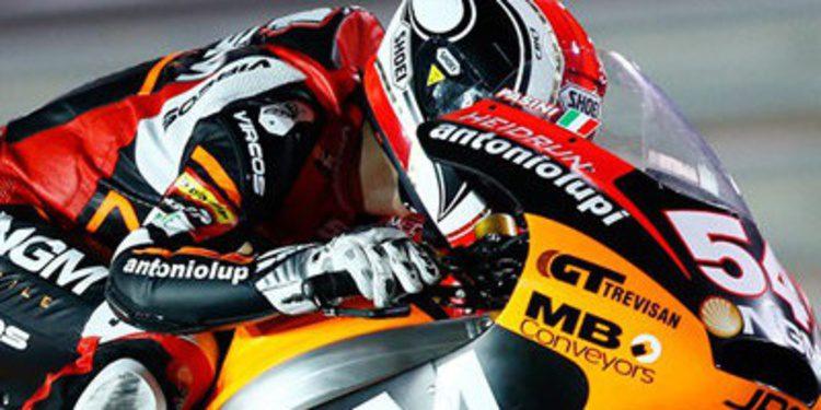 Mattia Pasini no se ahoga en los FP2 de Moto2 de Assen