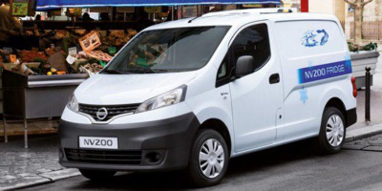 Nissan ofrece frigorífico e isotermo para la NV200