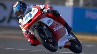 Miguel Olivera y Mahindra, primera pole en Moto3 en Assen