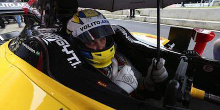Marcus Ericsson, el más rápido bajo la lluvia en Silverstone