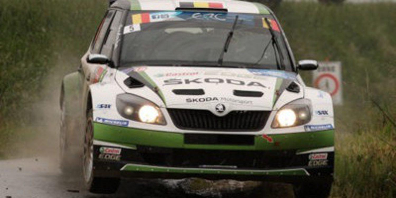 Freddy Loix gana su octavo Ypres Rally en el ERC
