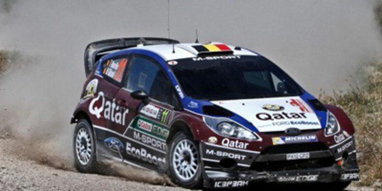 Thierry Neuville, esperanza de M-sport en el WRC 2013