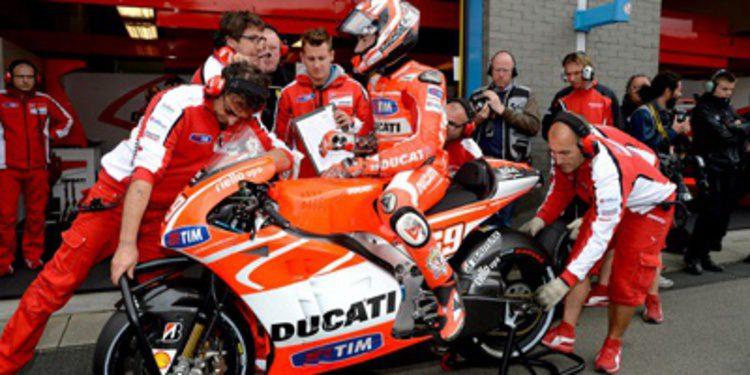 Ducati apunta a carreras-cliente para MotoGP 2014