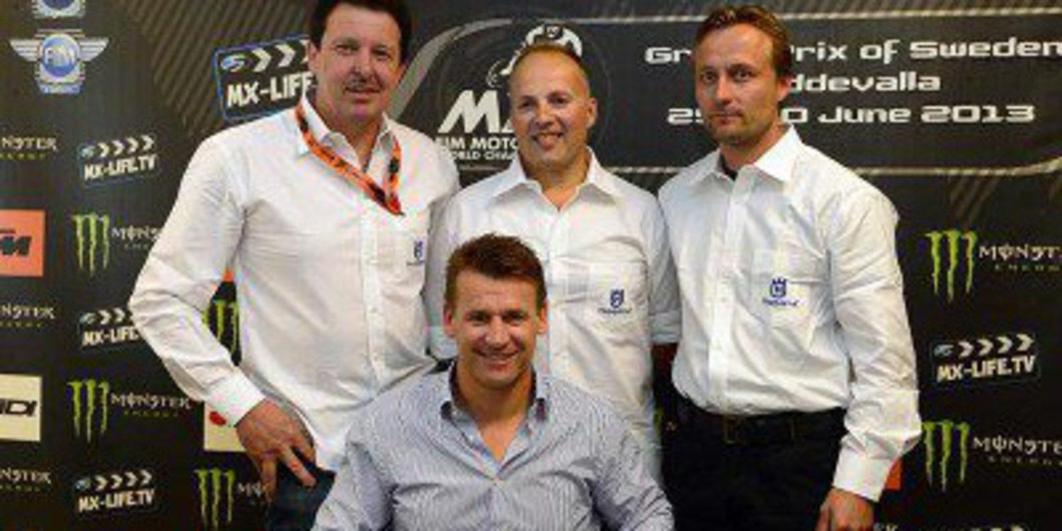 Husqvarna regresa al Mundial de Motocross en 2014