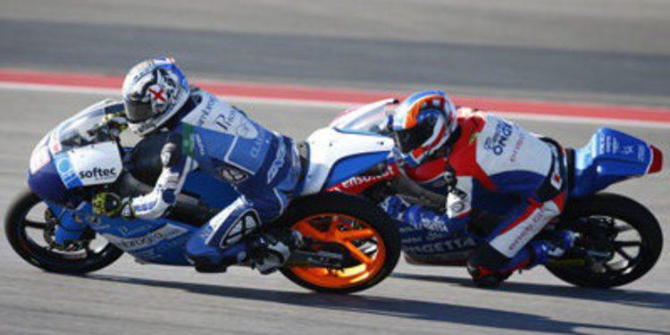 Danny Webb causa baja del GP de Alemania de Moto3