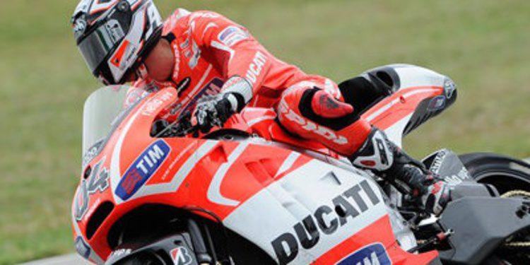 Test paralelo de Ducati con la GP13 en Misano