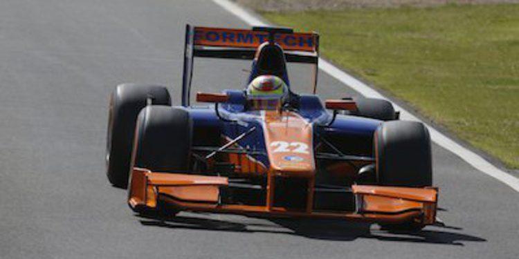 Robin Frijns lidera los libres de GP2 en Nürburgring