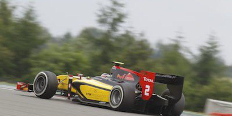 Richelmi y DAMS en la Qualy GP2 de Nürburgring