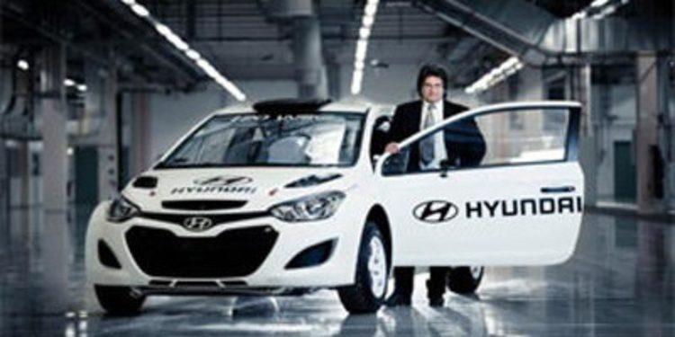 Los siguientes pasos de Hyundai hacia el WRC 2014