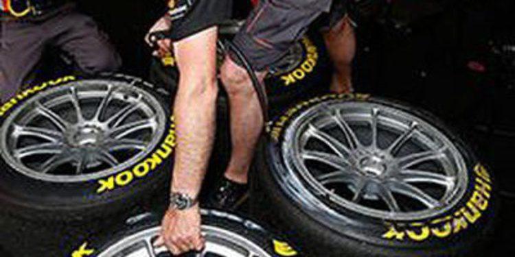 Nuevo sistema para distinguir los neumáticos option en el DTM