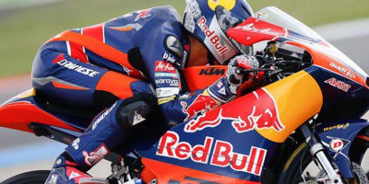 Luis Salom de récord en los FP1 Moto3 en Alemania