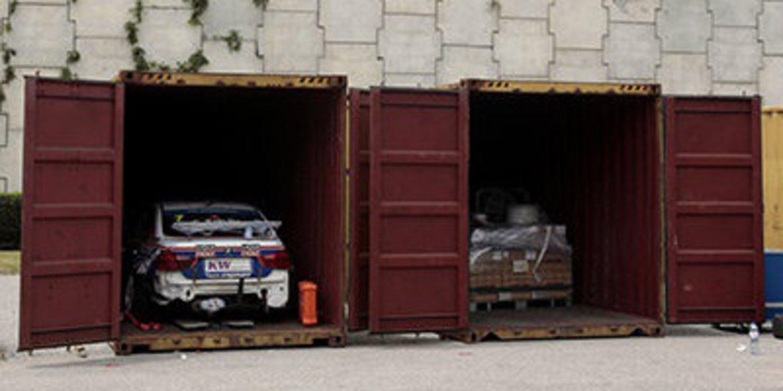 Los coches del WTCC ya están camino de Argentina