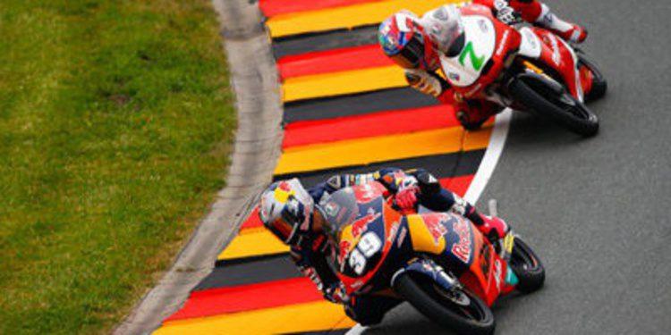 Luis Salom repite en los FP3 de Moto3 en Sachsenring