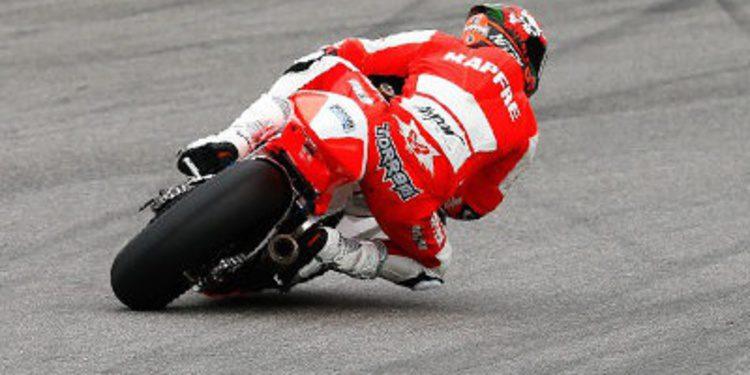 Jordi Torres amenaza en los FP3 Moto2 en Alemania