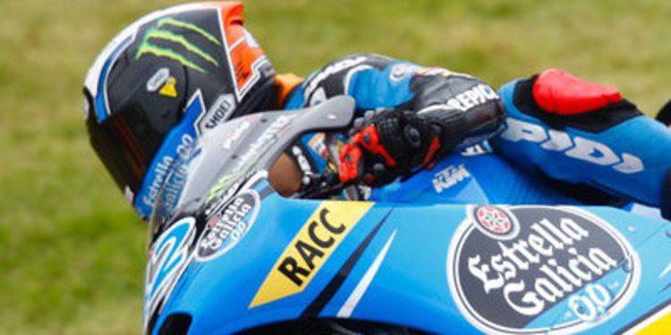 Alex Rins pole de Moto3 en Sachsenring
