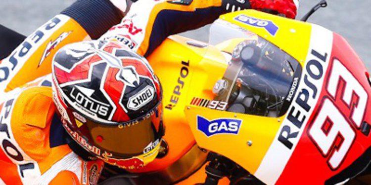Marc Márquez se anota el Warm Up en Sachsenring