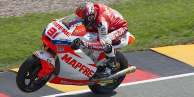 Jordi Torres se estrena en Sachsenring en Moto2