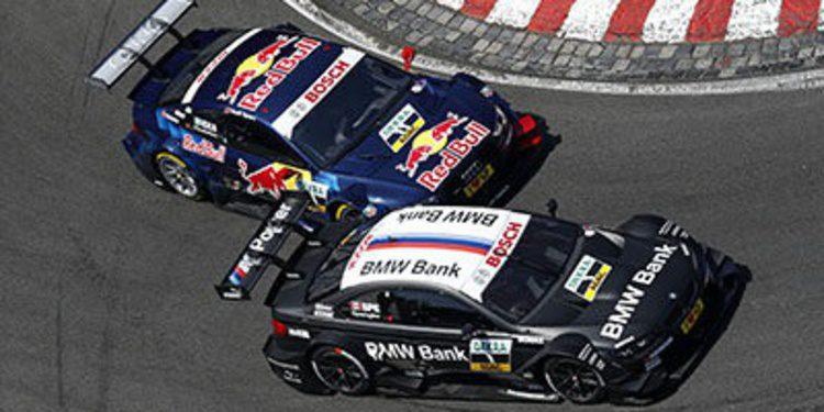 Dani Juncadella consigue su primer podio en el DTM