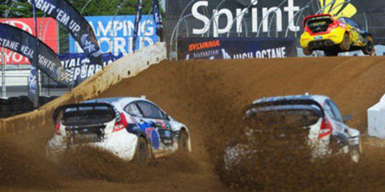 """""""Topi"""" Heikkinen gana en New Hampshire en el GRC"""
