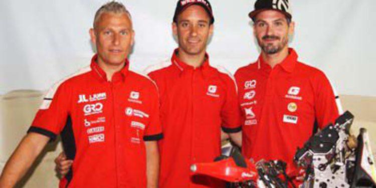 Farrés y Jordi Viladoms con Gas Gas al Dakar 2014