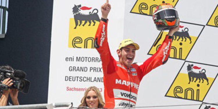 Jordi Torres al verano con victoria en Moto2 y crecido