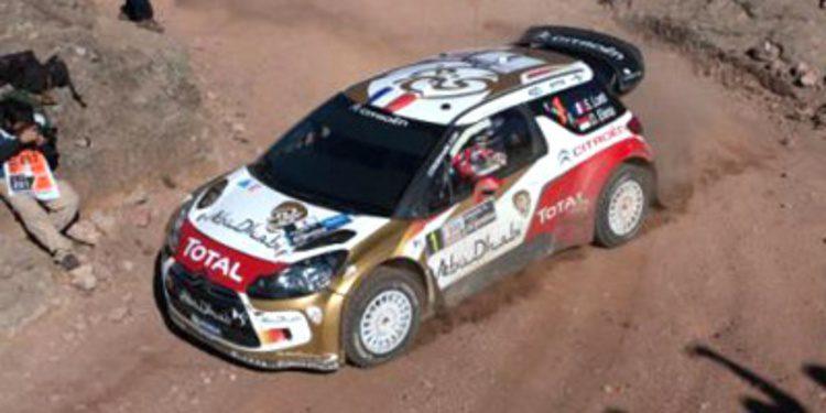 Sebastien Loeb sorprendido por las horas bajas de Citroën