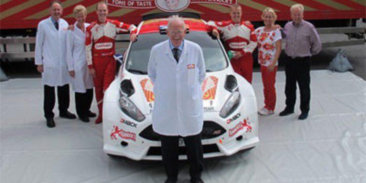 Robert Barrable con el Fiesta R5 en 5 citas del WRC 2013
