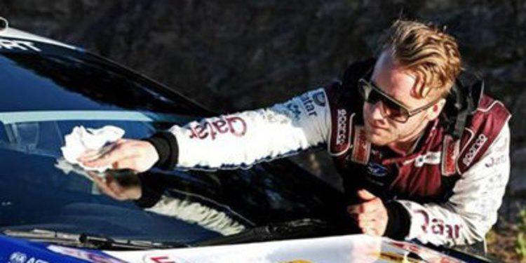 M-Sport y Mads Ostberg preparan el Rally de Finlandia