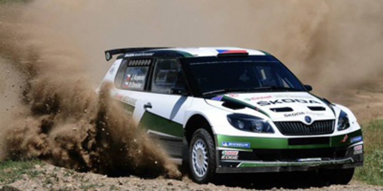 Jan Kopecký de test de cara al Sibiu Rally del ERC
