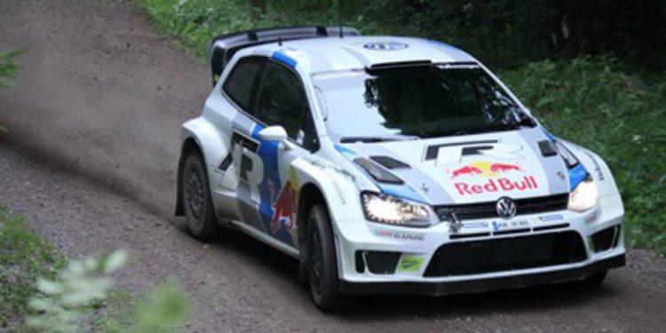 Volkswagen y Latvala de test para el Rally de Finlandia