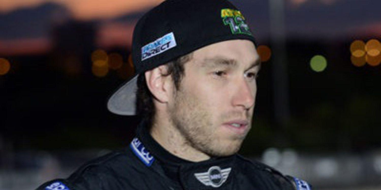 Chris Atkinson en el equipo de test de Hyundai Motorsport