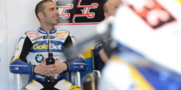 Melandri quiere seguir en el Mundial de Superbikes 2014