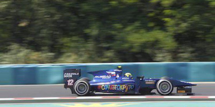 Dillmann se lleva la pole en Hungría con doblete de RUSSIAN TIME
