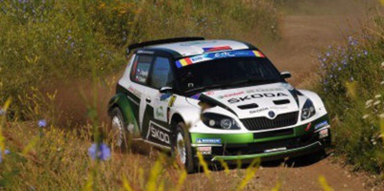 Jan Kopecký lidera el Sibiu Rally del ERC tras la 1ª etapa