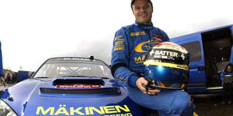 Tommi Makinen también estará en el Rally de Finlandia