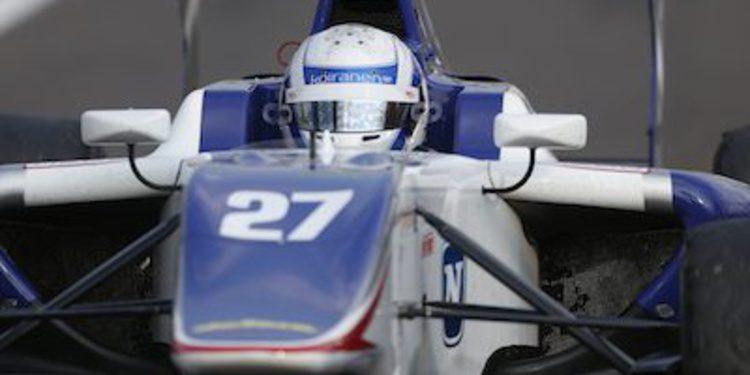 Vainio vence en Hungría y rompe la igualdad en GP3