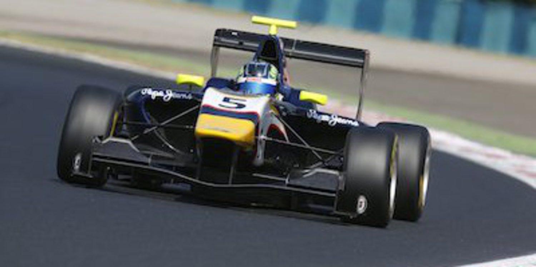 Visoiu vence en el sprint de GP3 en Hungría con podio de Sainz Jr